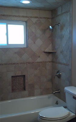 Custom Tile Showers in Sussex County NJ